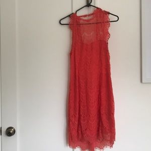Free People Low Back Strapless Dress